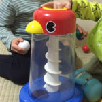 1歳の誕生日プレゼントにオススメ知育おもちゃ「NEWくるくるチャイム」