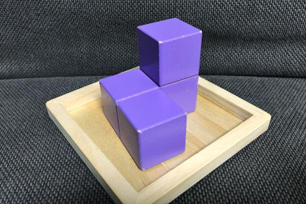 子どもの頭を良くする『賢人パズル』:紫