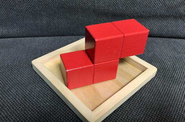 子どもの頭を良くする『賢人パズル』:赤