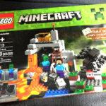 【マイクラ】子どもが大喜びしたマインクラフトのレゴ(ザ・ケイブ 洞窟)