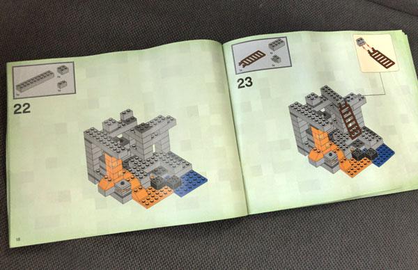 【マイクラ】子どもが大喜びしたマインクラフトのレゴ(ザ・ケイブ 洞窟)_06