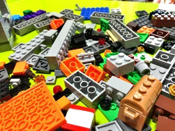 【マイクラ】子どもが大喜びしたマインクラフトのレゴ(ザ・ケイブ 洞窟)_08