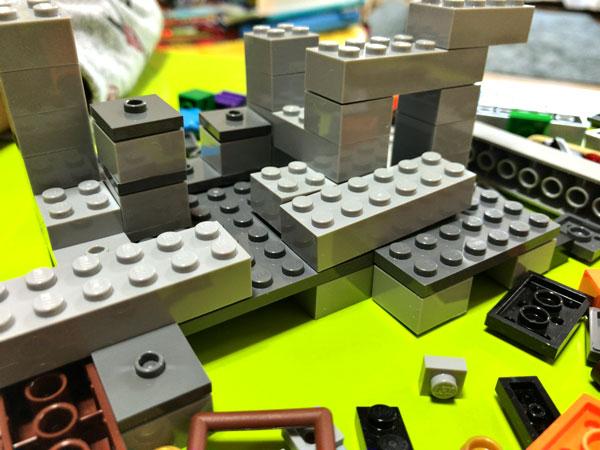 【マイクラ】子どもが大喜びしたマインクラフトのレゴ(ザ・ケイブ 洞窟)_10