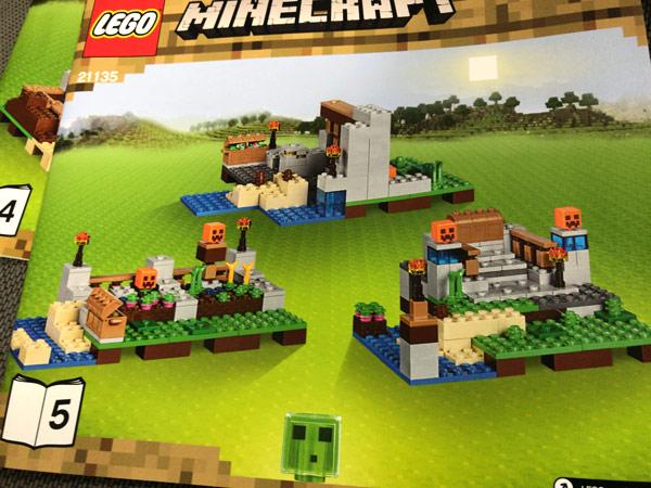 レゴ(LEGO)マインクラフト クラフトボックス 2.0 21135のセット5