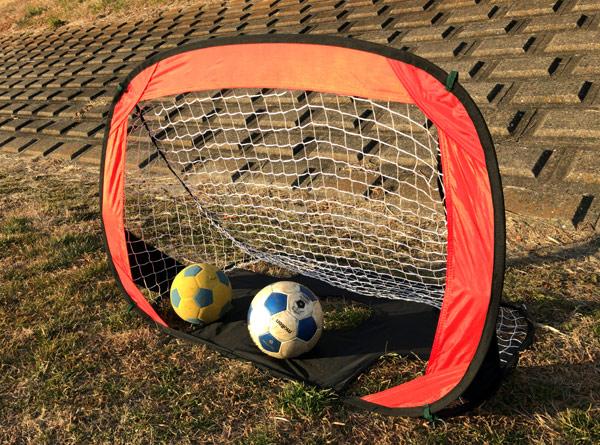 子ども用サッカーゴールは簡単ワンタッチ組み立てのこれがオススメ