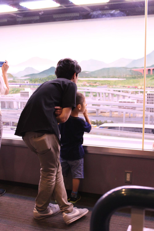 2016年9月、鉄道博物館にて。
