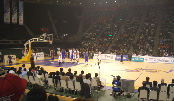 bjリーグ2005年の開幕戦