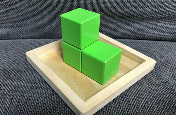 子どもの頭を良くする『賢人パズル』:黄緑