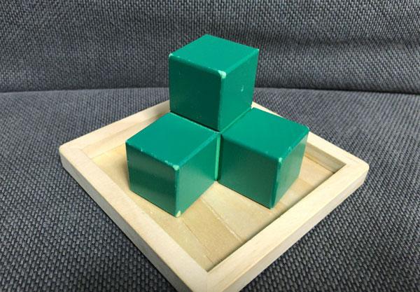 子どもの頭を良くする『賢人パズル』:緑