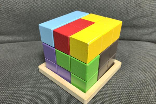 子どもの頭を良くする『賢人パズル』:完成