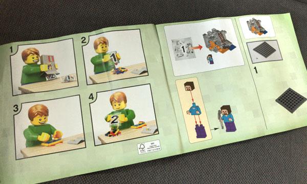 【マイクラ】子どもが大喜びしたマインクラフトのレゴ(ザ・ケイブ 洞窟)_04