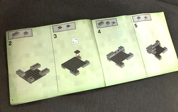 【マイクラ】子どもが大喜びしたマインクラフトのレゴ(ザ・ケイブ 洞窟)_05