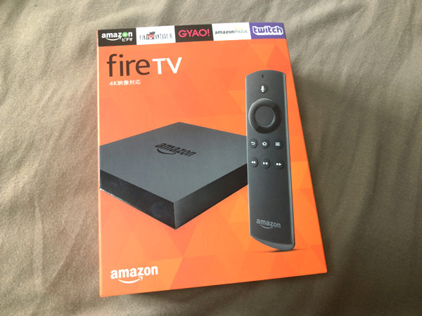 Amazon FIRE TV(パッケージ)