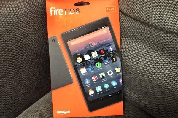 僕がAmazon Fire HD8を2台目タブレットとして買った理由は動画の「ながら視聴」