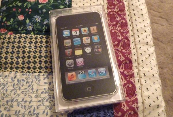 アメリカで買ったiPod touch
