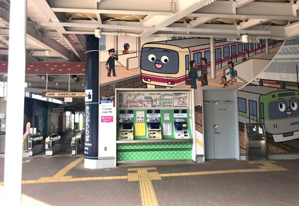 京王れーるランドは京王線の多摩動物公園駅の隣です