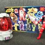 【キュウレンジャーのハッピーセット】「ファイト!シシレッド」と「まわる!シシキュータマ」をゲット!