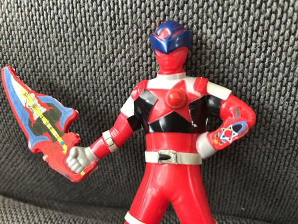 【キュウレンジャーのハッピーセット】ファイト!シシレッド