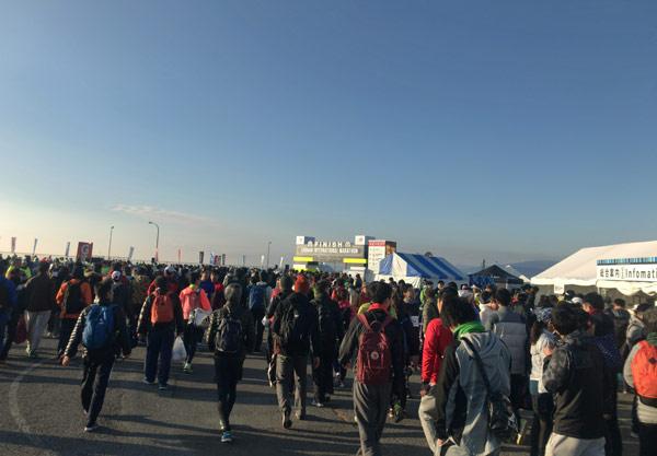 湘南国際マラソン会場