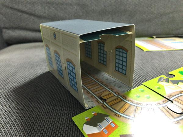 きかんこ(機関庫)ペーパークラフト