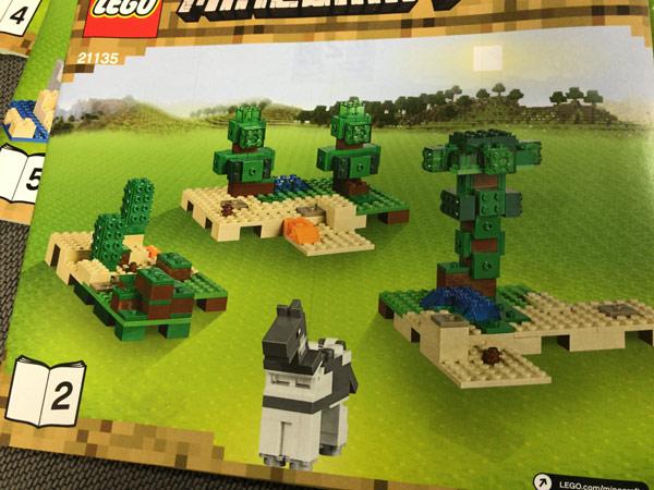 レゴ(LEGO)マインクラフト クラフトボックス 2.0 21135のセット2