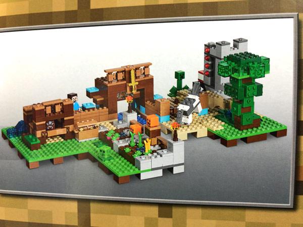 レゴ(LEGO)マインクラフト クラフトボックス 2.0 21135の組み合わせ