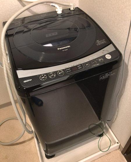 使い続けた縦型洗濯機
