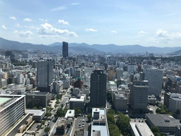 リーガロイヤルホテル広島の31階ツインルーム