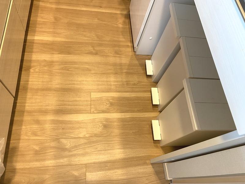 キッチンボードのゴミ箱は通路スッキリ!省スペースのKEYUCA (ケユカ) arrots ダストボックスがオススメ
