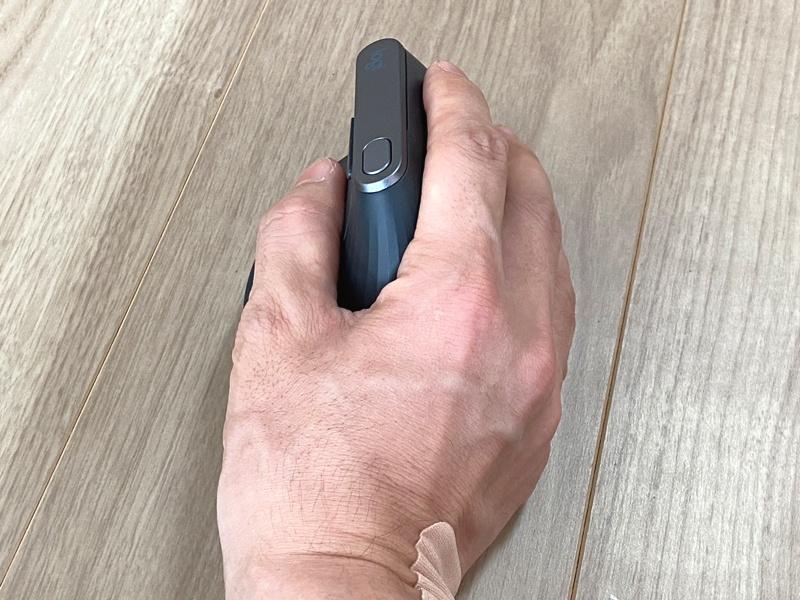 「マウス腱鞘炎」にオススメのエルゴノミクスマウス+滑り止めセットとアームレストを試してみた