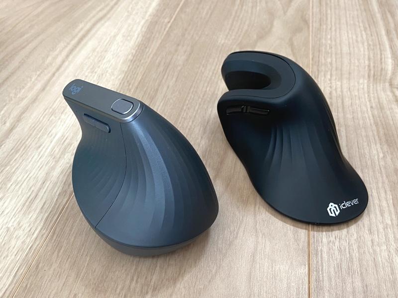 「マウス腱鞘炎」にオススメのエルゴノミクスマウス(2種類の比較)+滑り止めセットとアームレストを試してみた
