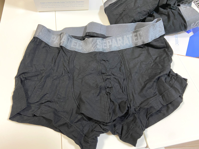 【男性の股間の蒸れ対策】タマとサオを分離するボクサーパンツが快適